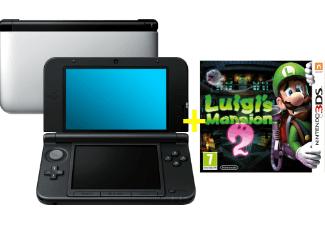 Mediamarkt: Nintendo 3DS XL silber + Luigi's Mansion 2 um €156 - 17% sparen