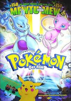 "[Pokemon.com] Für ""Nostalgiker"" Pokemon - Der Film gratis streamen"