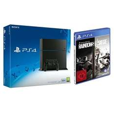 "PlayStation 4 (500 GB, CUH-1216A) + ""Rainbow Six Siege"" um 323,80 €"