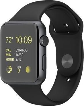 Apple Watch Sport (42 mm, schwarz) um 375 € inkl Versand - 16% sparen