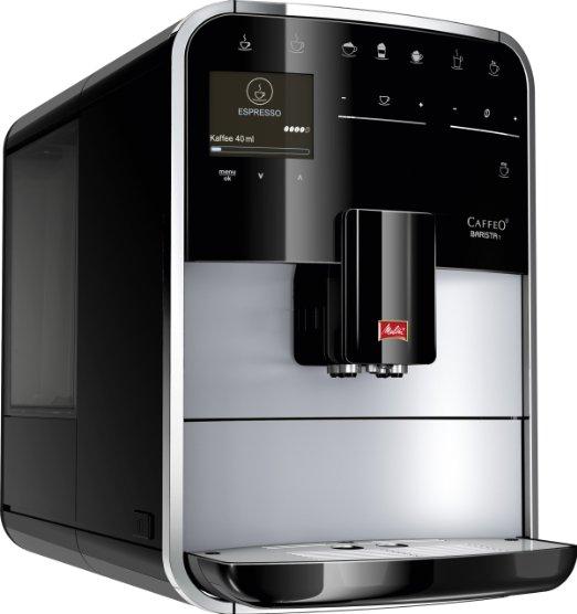 [Amazon.de Warehouse] Melitta F 731-101 Premium Kaffeevollautomat Caffeo Barista T (Cappuccinatore) silber/schwarz € 377,86 statt € 700,-- wenn Neu...