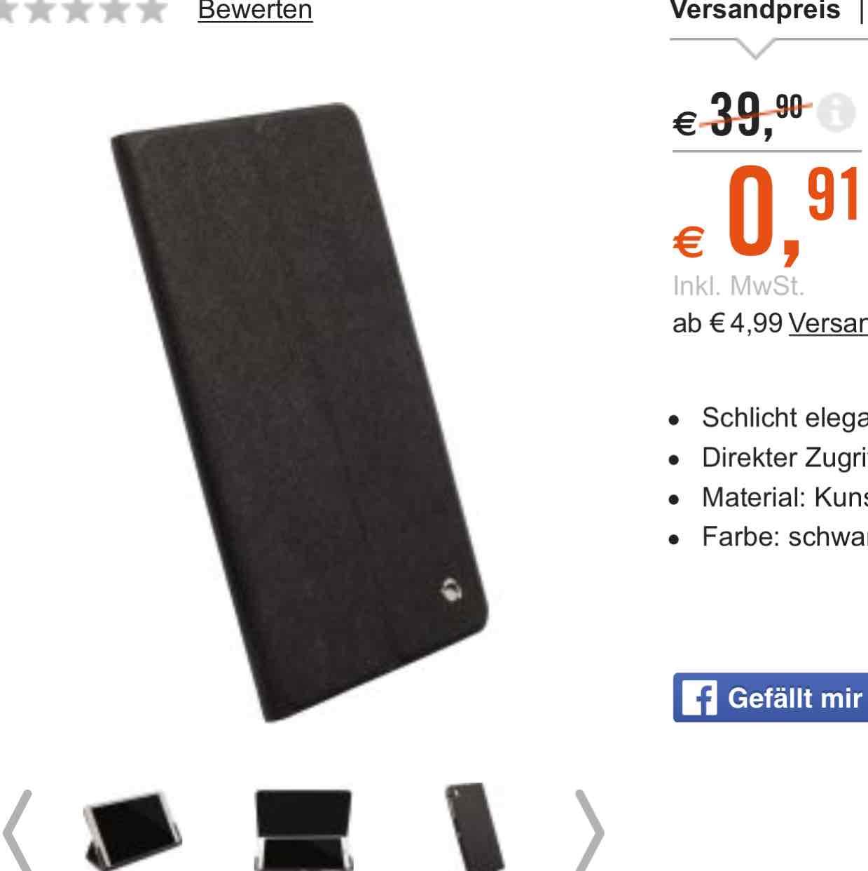 Preisfehler? Krussl Malmö Tablet Case für Galaxy Tab Pro 8.4 schwarz