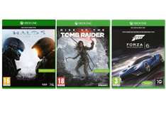 [Amazon.it][Xbox One] Halo 5 + Rise of the Tomb Raider + Forza 6 für 92,41€ - 39% sparen