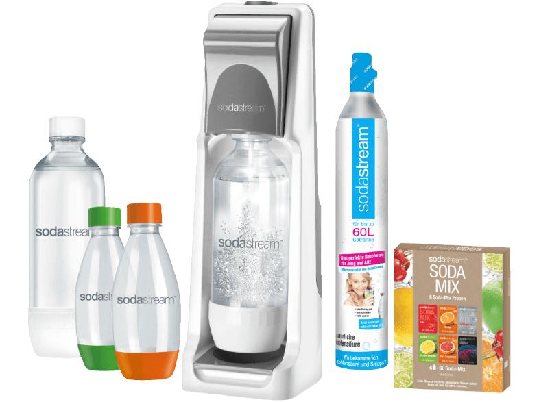 [MediaMartk.at] Die 8 bis 8 Nacht - Sodastream mit 4 Flaschen & 6 Testsirupe Gratis Versand € 47,--