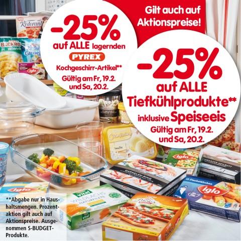 Lebensmittelhandel Angebotsübersicht 18.2.2016 - 24.2.2016