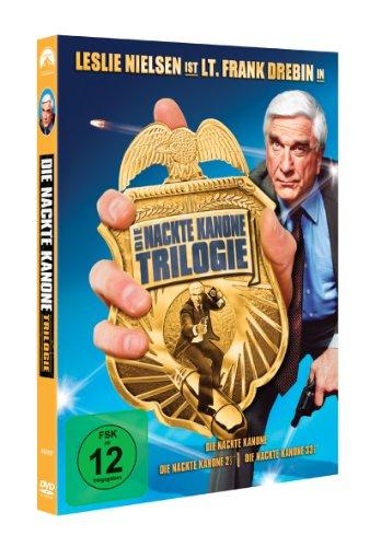"""""""Die nackte Kanone"""" DVD-Triologie um 7 € - 42% sparen"""