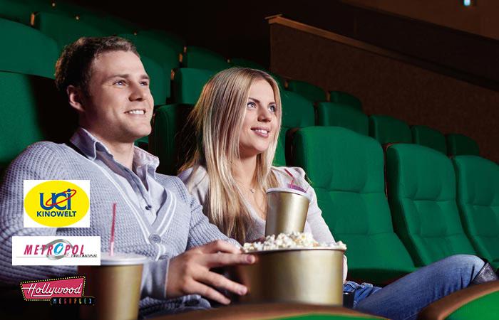 Merkur: 10 Kino-Tickets für UCI Kinos um 65 €