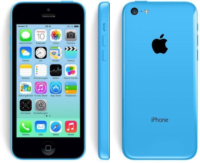 Aussteller: iPhone 5C (16 GB) um 189 € inkl Versand - 47% sparen