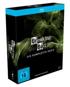"""Breaking Bad"" (komplette Serie, 16 Blu-Rays) um 49,97 €"