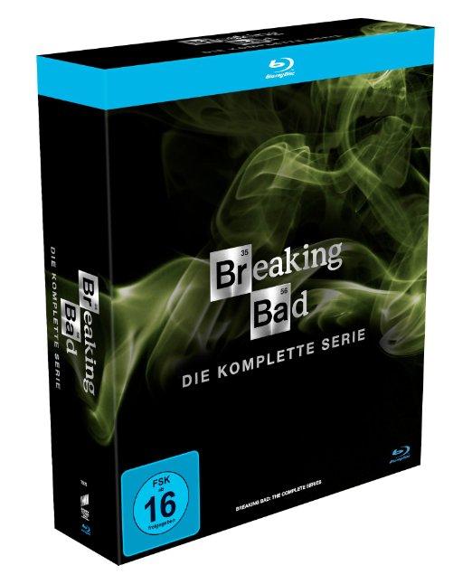 """Breaking Bad"" (komplette Serie, 16 Blu-Rays) um 49,97 €"