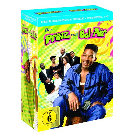 Der Prinz von Bel Air - komplette Serie für 35,31€ inkl. Versand
