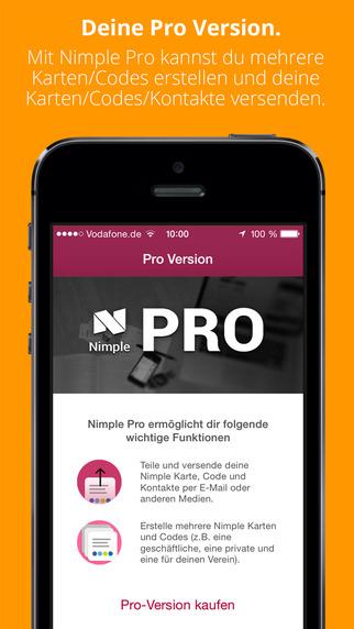 Pro-Version von Nimple (iOS/Android) kostenlos statt 1,99 Euro