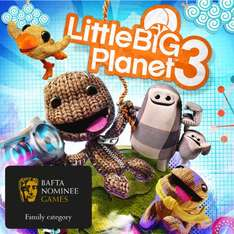 [PSN] Little Big Planet 3 (PS4/ PS3) für 9,99€ - 50% sparen