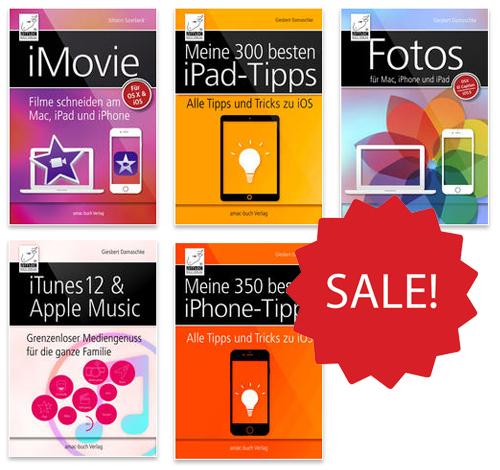 5 Apple eBooks für jeweils nur 99 Cent