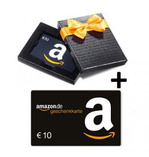 40€ Gutschein kaufen und 10€ geschenkt von Amazon – nur noch bis morgen!