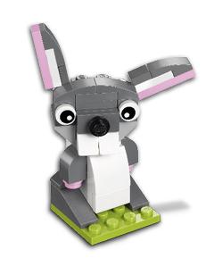 LEGO Store: Gratis LEGO Osterhase Mini-Modell - nur am 3. März zwischen 16 und 18 Uhr