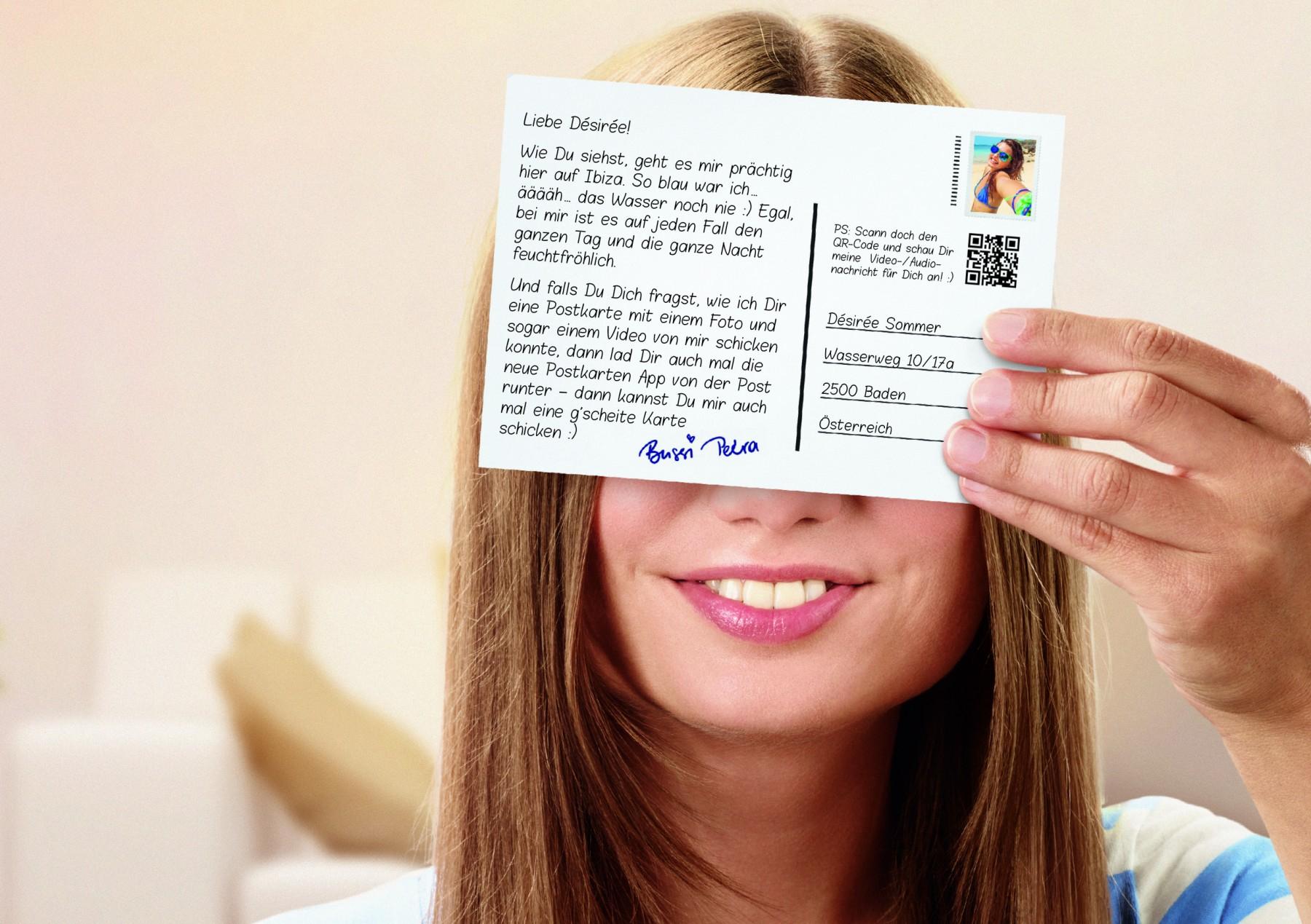 probiermal.at - Individuelle Postkarte 1x GRATIS versenden