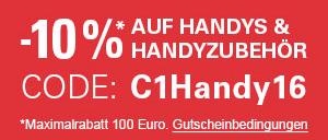 [eBay] 10% Rabatt auf Smartphones und Zubehör!