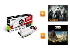 ASUS GeForce TURBO GTX970 OC 4GB The Division Far Cry Primal Gaming Grafikkarte