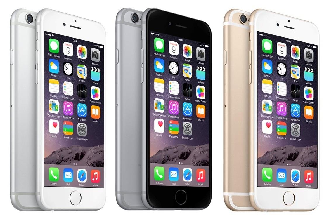 iPhone 6 (16 GB) um 496 € inkl Versand - 17% sparen