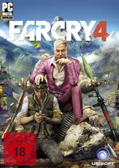 Far Cry 4 als Uplay Download Code um 13,95€ @ Amazon
