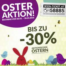 WIEN-TICKET Osteraktion