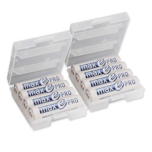 8x ANSMANN Akkubatterie maxE PRO Akku für 14,99 Euro