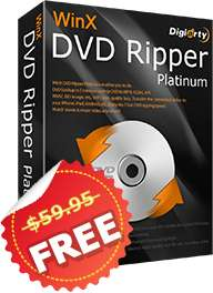 Ostern Giveaway: WinX DVD Ripper Platinum für Windows