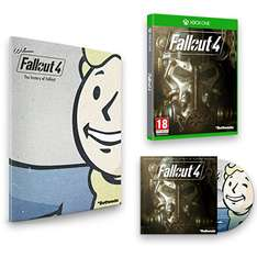 [Amazon.co.uk] Fallout 4 ( PS4/ Xbox One) inkl. Franchise Book + Soundtrack für 25,79€ bzw 30,45€ - bis 35% sparen