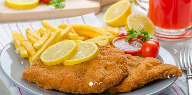 "DailyDeal: ""Schnitzel / CordonBleu + Palatschinken"" für 2 Personen um 12 €"