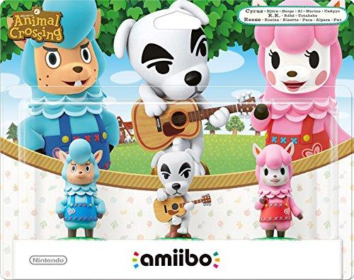 [Amazon.it] amiibo Animal Crossing 3er Figuren-Set (K.K., Rosina, Björn) für 15,43€ - Ersparnis: 48%