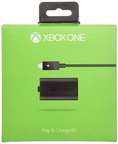 [Amazon.es] Xbox One Play and Charge Kit für 14,63€ - 27% sparen