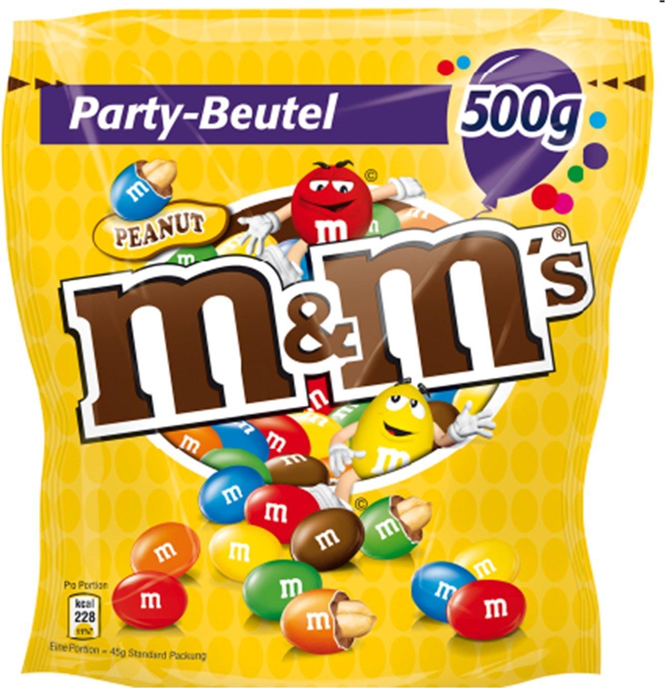 4x 500g Beutel M&M's Peanut (2 KG) ab 18,47€