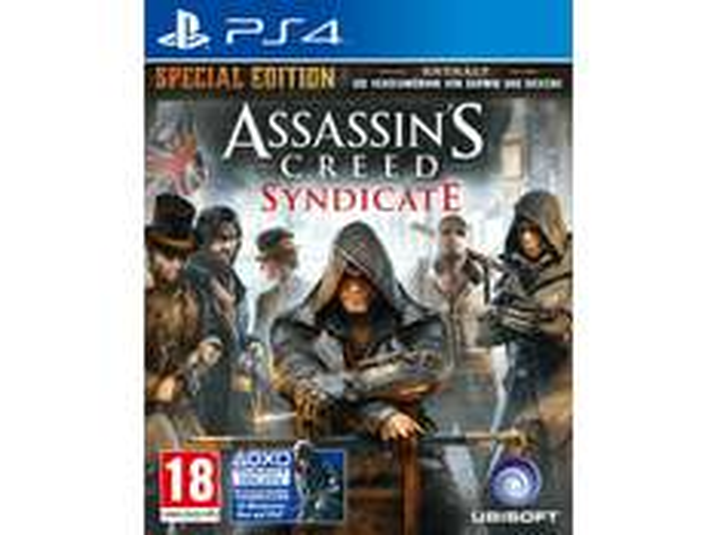 Assassins Creed Syndicate PS4/XBOX um 27€ und versandkostenfrei - SATURN ÖSTERREICH