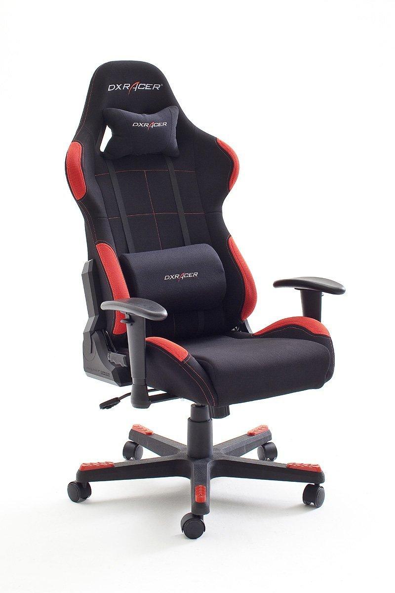 DXRacer 1 und 5 , Bürostuhl, Gaming Stuhl um nur 190,58!! (-28%) rot/grau