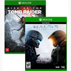 Gameware: Rise of the Tomb Raider oder Halo 5: Guardians (EU-Import) für je 24,90€