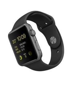 Amazon UK: Apple Watch Sport (42 mm) um 360 € inkl Versand - 10% sparen
