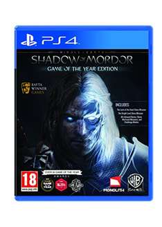 [Base.com] Middle-Earth: Shadow of Mordor Game of the Year Edition (PS4) für 20,66 EUR inkl. VSK