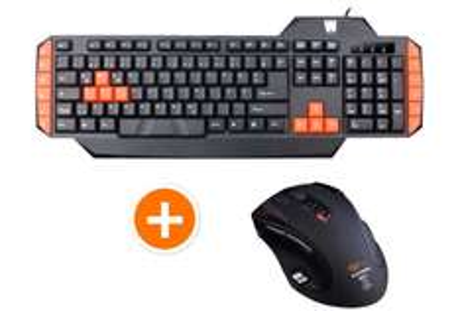 [Notebooksbilliger]WASDKEYS K100 Gaming Tastatur und Shogun Bros Ballista MK-I Gaming Maus mit Lasersensor für nur 34,99€ inkl.Versand