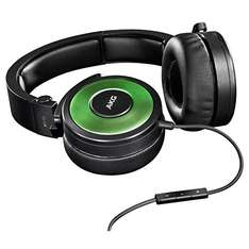 AKG Premium DJ-On-Ear Kopfhörer mit Apple iPhone Steuerung und Mikrofon