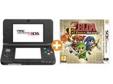 [Saturn.at] New Nintendo 3DS (Schwarz oder Weiß) + The Legend Of Zelda Tri Force Heroes für 161€