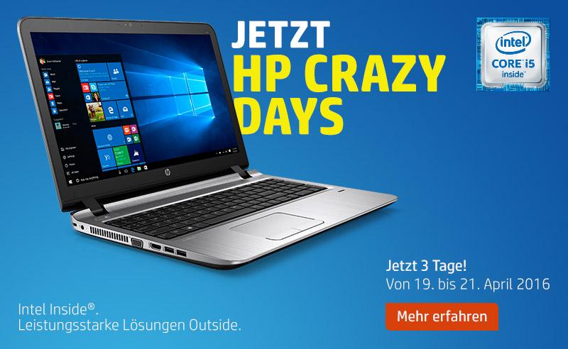 HP Crazy Days 2016