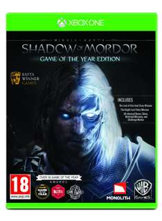 [Amazon.uk] Shadow of Mordor GOTY Xbox One nur 23,38€ inkl. Versand