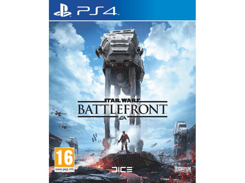 Mediamarkt: Starwars: Battlefront PS4, XONE & PC für €33,- inkl. Gratisversand