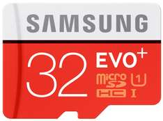 [Amazon Prime] Samsung Evo Plus microSDXC mit 32GB Class 10 / U1 inkl. SD-Adapter für 9€