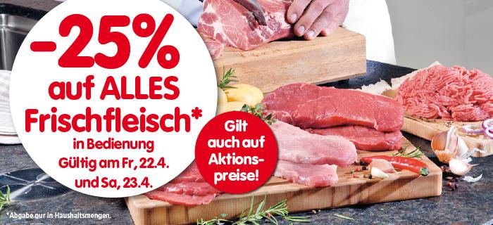 Lebensmittelhandel Angebotsübersicht 21.4.2016 - 27.4.2016