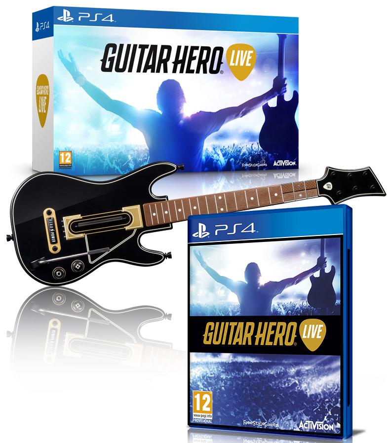 Mediamarkt Klagenfurt - Guitar Hero Live (XboxOne/360/PS3/PS4/WiiU) bis 41% sparen