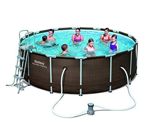 Bestway Steel Pro Frame Pool-Set, 427x122cm mit Filterpumpe für nur 316,31€ inkl. Versand [Vergleich: 540€]