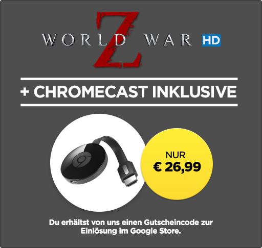 [wuaki] Chromecast 2 + Interstellar für 26,99€ - 43% Ersparnis