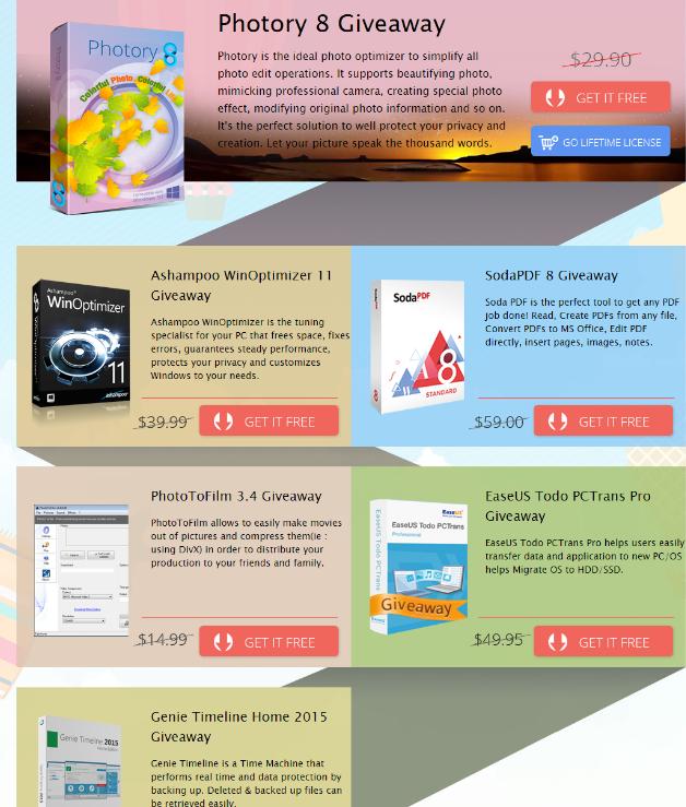 Gratis €205 Programm für Windows PC
